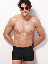 Men's Cotton Modal Flat Black Underwear 2015 Hot Fashion Underwear And Optional Xl Breathable Antibacterial Health