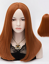 Harajuku Anime Cosplay Wigs Heat Resistant Long Straight Synthetic Wig