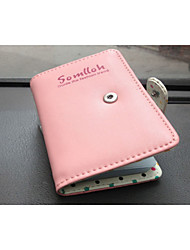 Women Short Wallet The New Female Wallet Card Bit More Cute Polka Dot Short Paragraph Long Paragraph Ms. Purse wallet