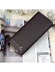 Guarantee! Genuine Leather Man Wallet Fashion Genuine Leather  Purse Crocodile Long Fold  Wallets  ,Large Capacity!