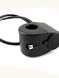 Motorcycle ATV Handlebar Power Plug Socket Cigarette Lighter 12V For Motorcycle
