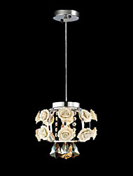 Chandeliers Crystal Modern/Contemporary/Lantern Living Room/Bedroom/Dining Room/Study Room/Office Metal   1 Light
