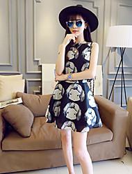 Women's Multi-color Blouse Sleeveless