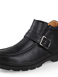 Scarpe da uomo Casual Di pelle Stivali Nero/Marrone/Kaki