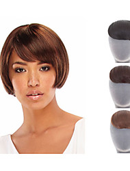 Natural  Clip In on Bangs Synthetic Hair Fringe for Women 3 color