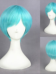 12inah Short Light Blue Touken Ranbu Online Ichigohitofuri Synthetic Anime Cosplay Wig 231K