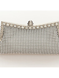 Handcee® The Most Popular Woman Metal Beaded Clutch Bag