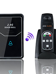 ENNIO  2.4G Digital Wireless Intercom System Door Bell wireless remote unlock