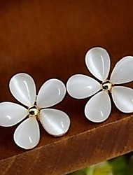 Love Is Your Fashion Pure And Fresh And Pure white Cherry Blossoms Earring Stud Earrings