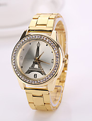 Drop shipping 2015 new  Woman  tower  watches New color watch Brand watches for women Geneva watches