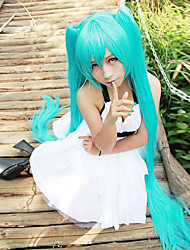 Long Straight Wigs 120cm Light Blue Anime Cosplay Wigs Hatsune Miku