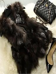 Smanicati e gilet in pelliccia - Senza maniche - di Pelliccia di volpe - Come nell'immagine