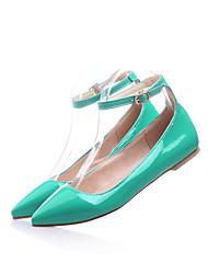 Women's Shoes  Flat Heel Creepers Pumps/Heels Office & Career/Dress/Casual Black/Blue/Yellow/Green/Red/Beige