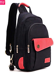 corda zíper mochila moda feminina mochila puxando saco de lona casuais