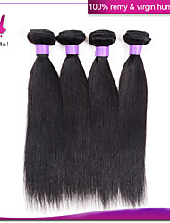Brazilian virgin hair straight brazilian straight hair 3pcs 8''-30'' straight brazilian virgin hair