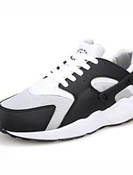 Zapatos de Mujer ( Negro/Blanco Tul/Tejido