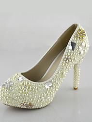 Mujer Zapatos de boda Tacones Tacones Boda/Vestido/Fiesta y Noche Blanco