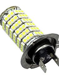 h7 6w 120led 580lm 6500-7500k carro bulbo sinal auto lâmpada de viragem nevoeiro luz 12v branco