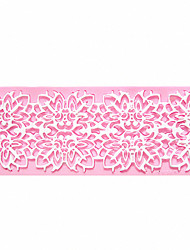 Flower Relief Lace Instant Lace Mold Cake Mold Silicone Baking Tools