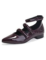 Women's Shoes Patent Leather Pointed Toe Flats Party More Colors available
