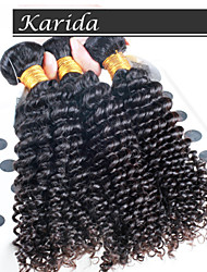 3 pcs/Lot Brazilian Deep Curly Wavy Hair, Top Quality Brazilian Human Hair