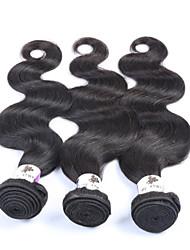 "3Pcs/Lot+8""-30""+Peruvian (Italian)Virgin Hair+ color(natural black)+Body wave"