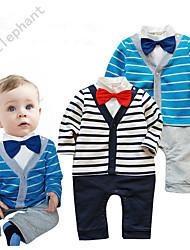 1pcs Cotton boys Gentle Romper Kids Set Outfits Baby Clothes for 6-24 M R63