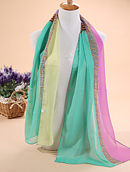 Hot  The new printing quality chiffon scarves, beach towel shawls scarves