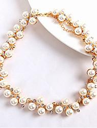 Temperament pearl necklace