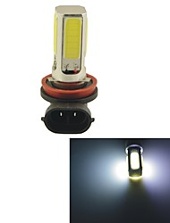 H8 15W COB LED Car Driving Headlamp Foglight Lamp-White Light(1PCS)