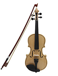 ASTONVILLA Maple Wood Violin Wood Color Imitation Ebony -AV01