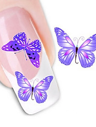 Water Transfer Printing Nail Stickers NO.1361