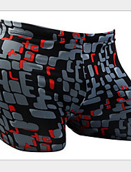 Men's Boxer Swim Trunks Geometric 3D Printing