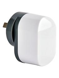 CE certifié double chargeur usb mur, au / nouveau plug plug-Zélande, sortie 2.4a 5v, pour l'iphone 5 iphone 6 / plus, l'air ipad / Mini /