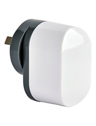 CE сертифицированы Dual USB зарядное устройство, аи / Новая Зеландия плагин плагин, выход 5V 2.4a, для Iphone 5 iPhone 6 / плюс, Ipad