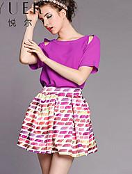 De eyuer dameskleding nieuwe jurk rok