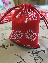 Bolsas de Ofertas ( Vermelho , Juta não-personalizado