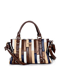Lucky Unisex Euro Style Newest Fashion PU Tote Bag