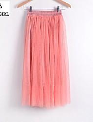 LIVAGIRL®Women's Skirt Fashion Sexy Grenadine Bubble Skirt Korean Style Casual All-Match Sweet Lady Skirt