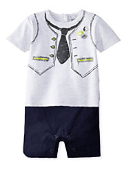 Boy Cotton Overall & Jumpsuit , Summer Short Sleeve