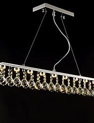ecolight® 90 ~ 240V lampes suspendues cristal / conduit à manger moderne / contemporain / salle d'étude / bureau / couloir métallique