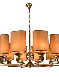 Morden Creative New Chinese Style Chandeliers 10 Lights with Height Adjustable Metal