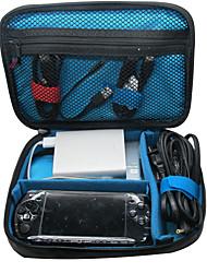 Khanka sacchetto portatile organizzatore di viaggi impermeabile mezzo per accessori elettronici