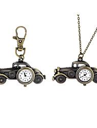 clásico antiguo de bolsillo colgante de coches de época relojes para hombres de las mujeres venta caliente nuevos regalos Correntes reloj