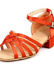 Andere - 3-6cm - Mädchenschuhe - Sandalen ( PU , Schwarz/Braun/Orange )
