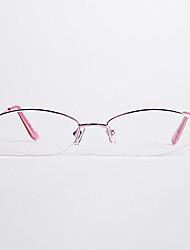 [Lentes Gratis] Mujer 's Ovalada Media Montura Gafas de Leer