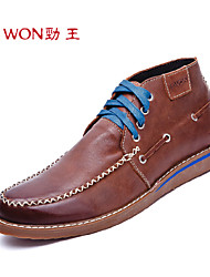Men's Shoes Outdoor/Office & Career/Casual Leather Oxfords Brown