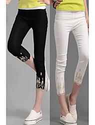 DONNE - Pantaloni - Sexy A vita medio-alta - Attivo Cotone