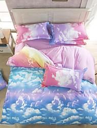 Duoma Tc Skin Cotton Ikea Style Blada Four Pieces Beding Set