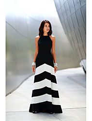 Sexy / Informell Träger - Ärmellos - FRAUEN - Kleider ( Baumwoll Mischung / Polyester / Modal )